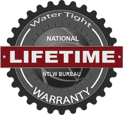 National Lifetime Warranty Seal