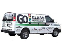 Mobile Go Glass Van